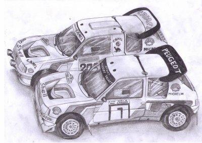 Peugeot 205 t16 et 205 rally raid blog de monpetitgarage for Garage peugeot paris 16